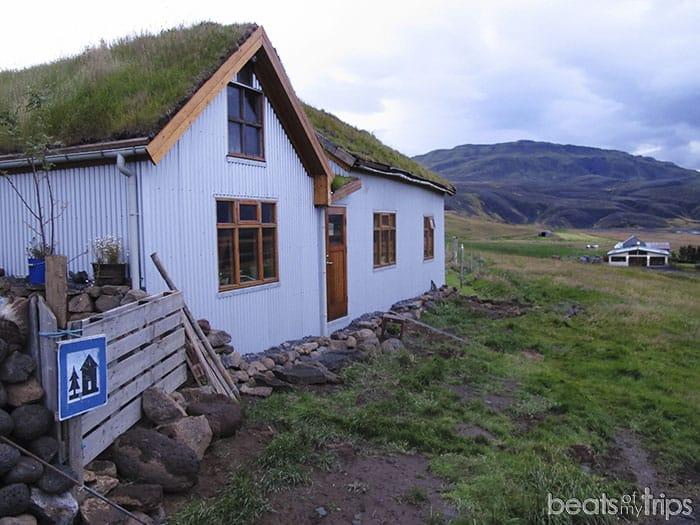 Refugio Fljotsdalur dónde dormir barato Islandia viajar Islandia
