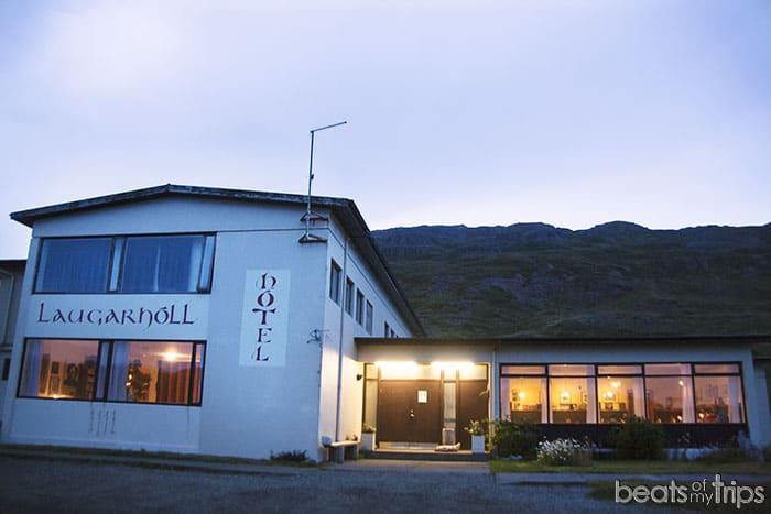 Alojamiento Islandia Fiordos oeste hotel barato Islandia