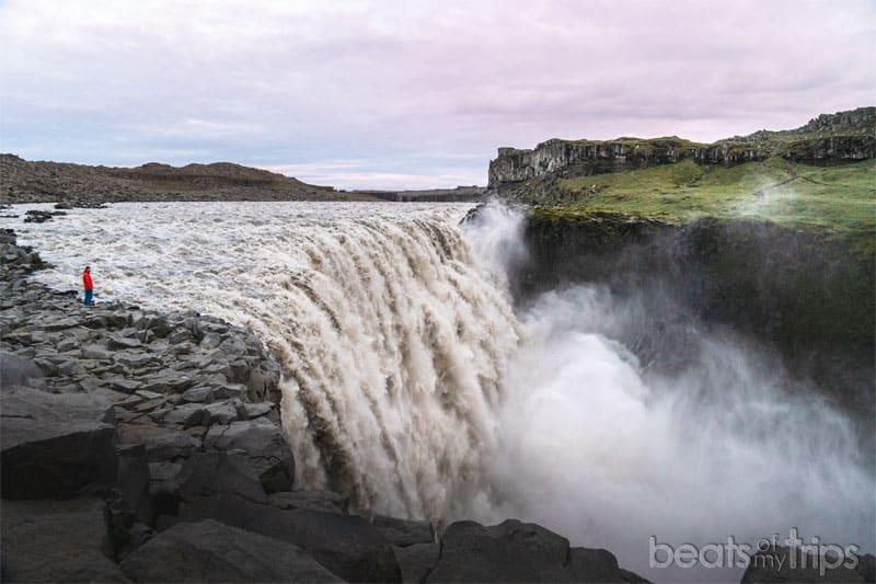 Que ver Islandia Cascada Dettifoss Blog VIajes Cañón Jökulsárgljúfur