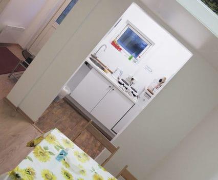 cocina Skaftafell camping Islandia Hostel
