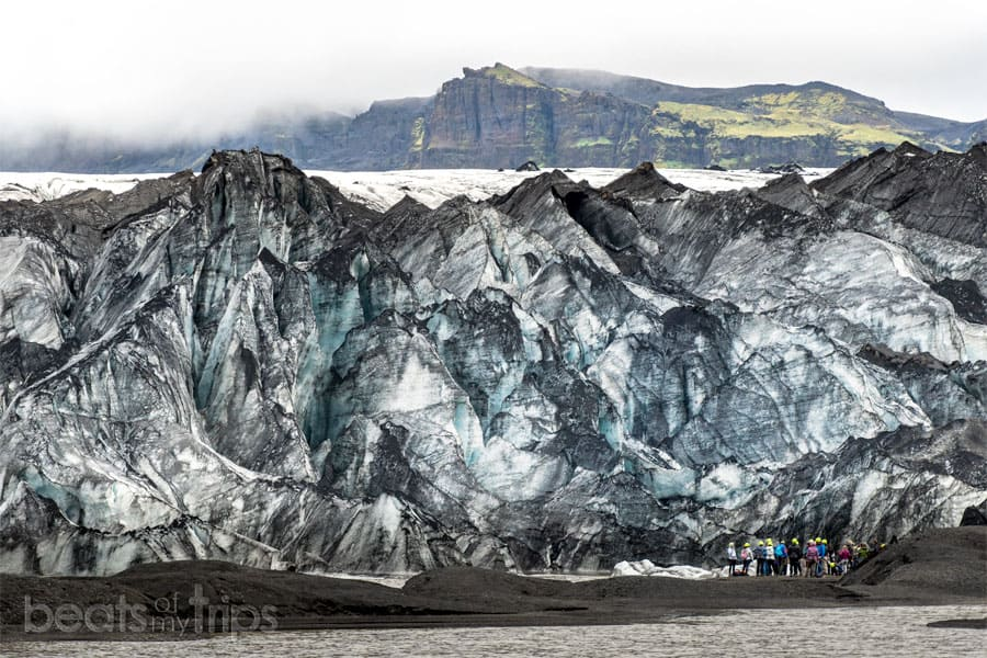que ver islandia guia trekking crampones glaciar Sólheimajökull