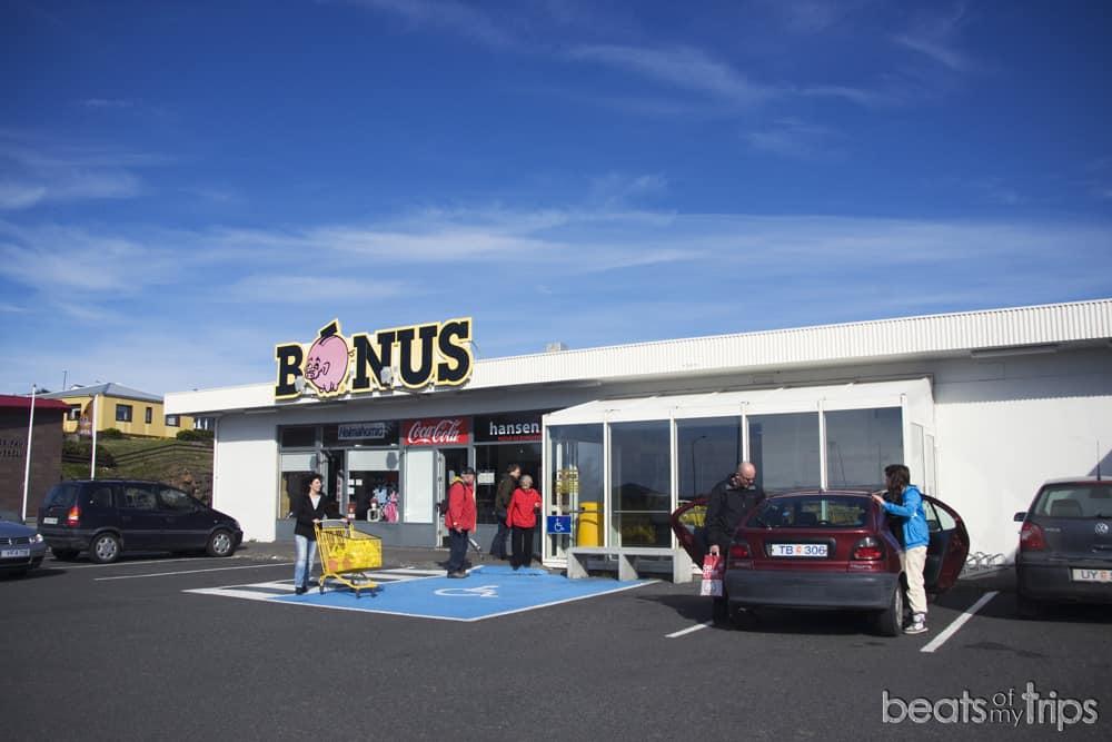 Islandia supermercados comer