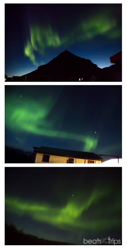 Aurora Boreal en la península de Snaefellsness