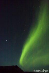 Aurora Boreal sobre Arnarstapi