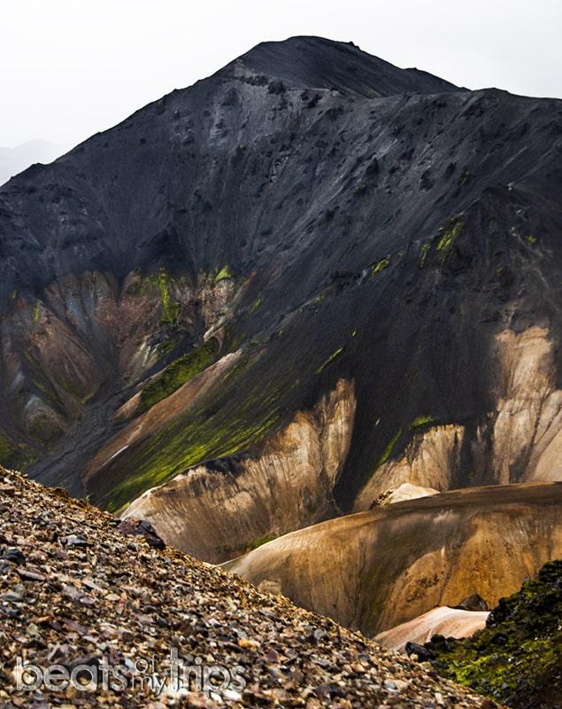 Bláhnúkur Trekking Landmannalaugar Islandia tierras altas highlands