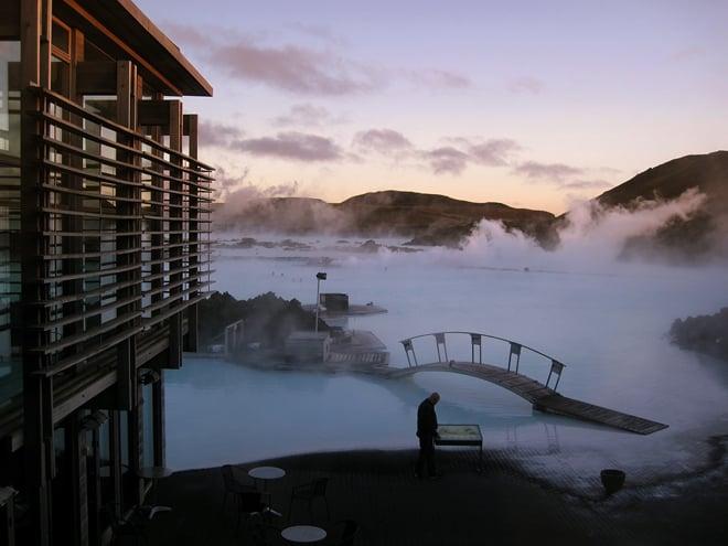 Blue lagoon Islandia que ver baños geotermales Laguna azul