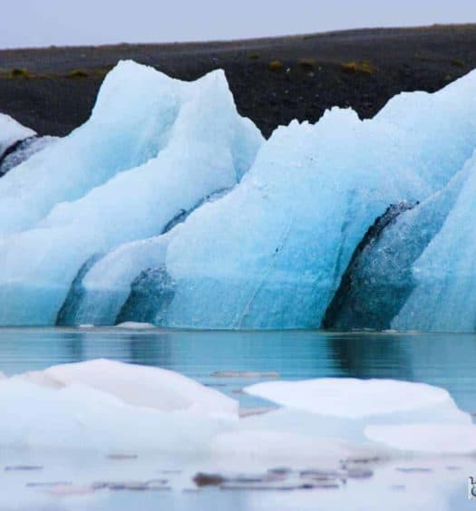 Glaciares en la laguna Jokulsarlon
