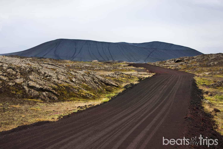 Cráter Hverfjall en Myvatn