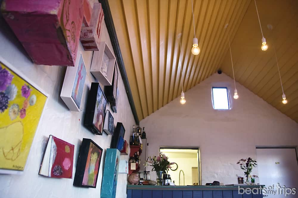 Cafe restaurante Fjoruhusid península Snaefellsness Islandia qué ver viajar a Islandia por tu cuenta por libre