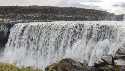 Islandia 6. El cañón Jökulsárgljúfur. Dettifoss, Selfoss y Hafragilsfoss