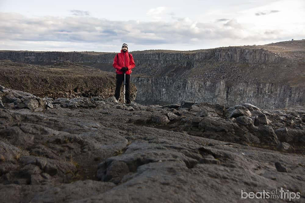 dettifoss trekking Cañon Jökulsárgljúfur como viajar a Islandia