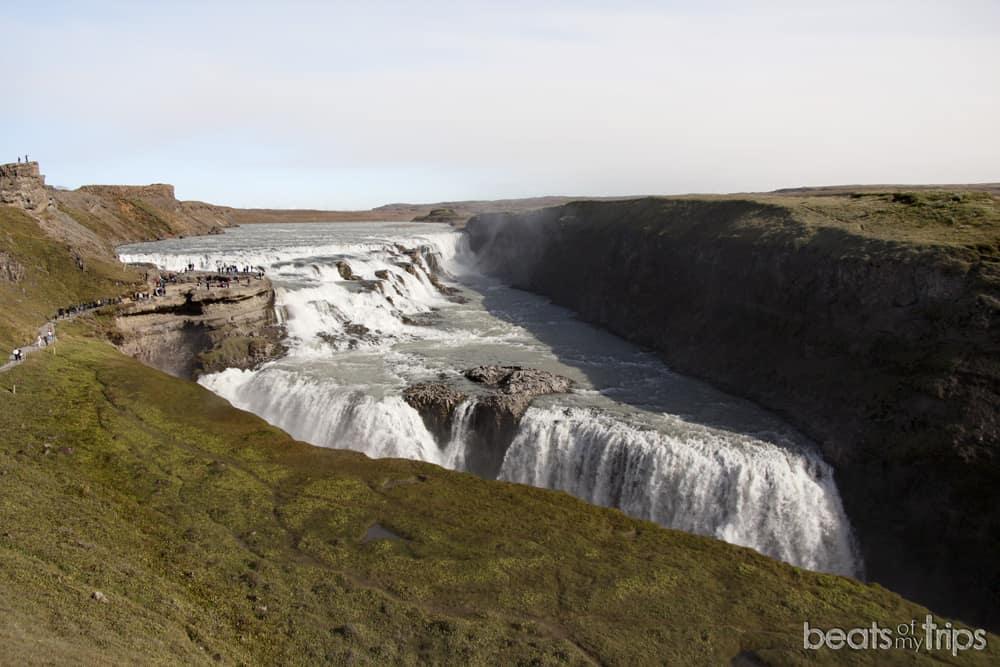 catarata Gullfoss Islandia cascada de los dioses cascadas Islandia viajar por tu cuenta blog de viajes
