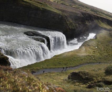 Islandia Gullfoss cascada catarata Gullfoss dioses cascadas Islandia viajar por tu cuenta blog de viajes