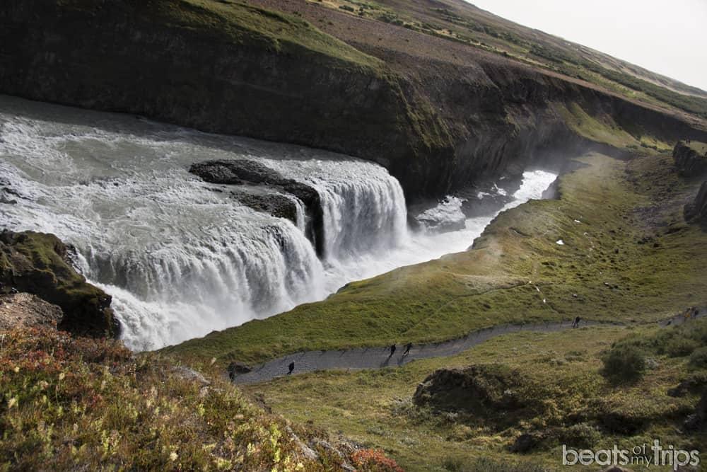 Gullfoss cascada Islandia qué ver Círculo Dorado blog viajes