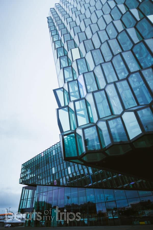 Harpa que ver Reikiavik un día capital Islandia blog