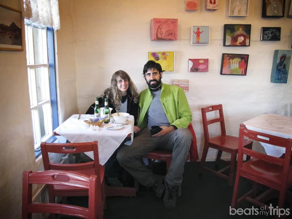 comer Snaefellsnes peninsula Hellnar Arnarstapi restaurantes Cafes tomar algo viajar a Islandia por libre