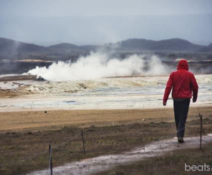 Solfataras Hverir Islandia