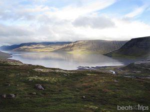 Fiordo Árnafjordur Dynjandi cascada Fjallfoss fiordos oeste Islandia viaje a Islandia viajar por tu cuenta fiordos del oeste