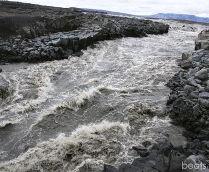 Cañon Jokulsa a Fjollum rio Askja Islandia