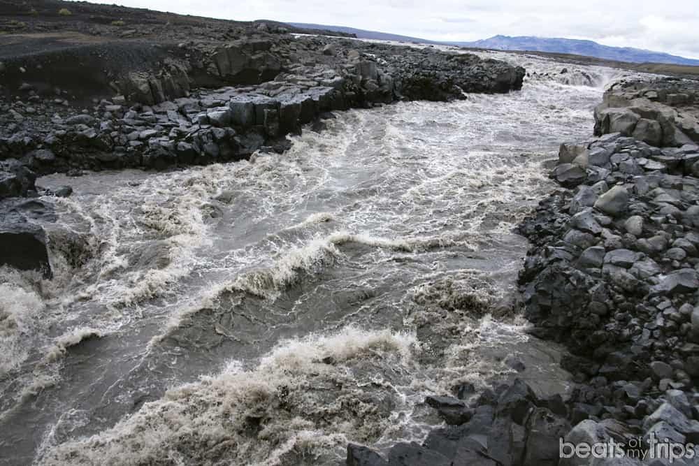 highlands Islandia Askja Cañon Jokulsa a Fjollum cuando abren carreteras F Islandia