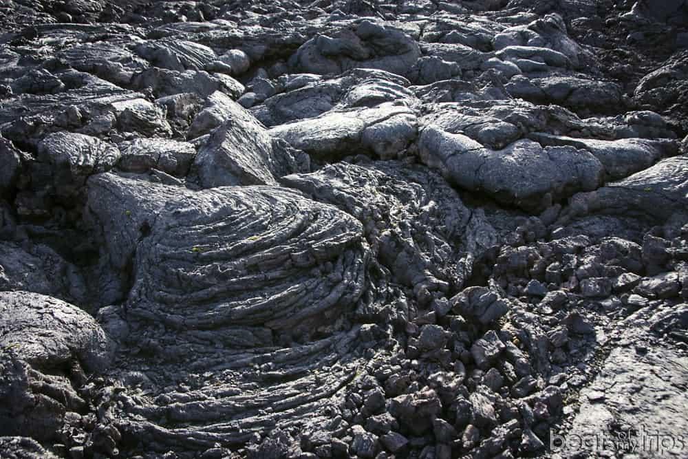 Montones de lava en Askja