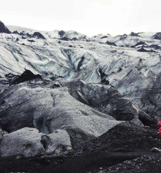 Sólheimajökull glaciar