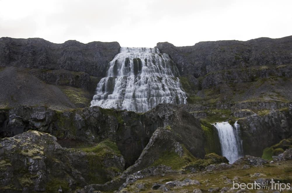 Cascada Dynjandi Islandia Fjallfoss fiordos oeste Islandia viaje a Islandia viaje fiordos del oeste