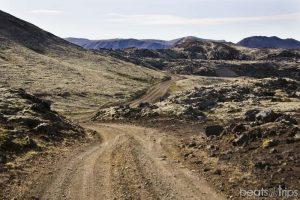 Berserkjahrau campo lava glaciar Snafellsjokull volcán península Snaefellsnes Parque nacional peninsula Snæfellsnes Islandia viajar por libre blog viajes