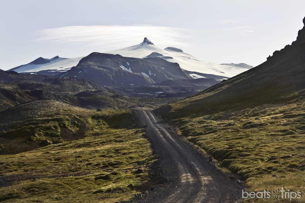 Snaefellsjokull F570 carretera Islandia Kirkjufell península Snaefellsnes cómo llegar