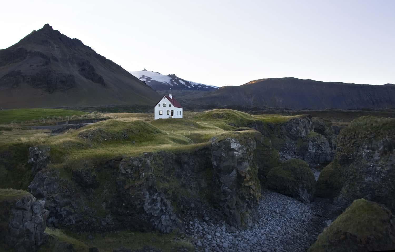 Arnarstapi península Snaefellsnes Hellnar campos lava viajar islandia blog viajes