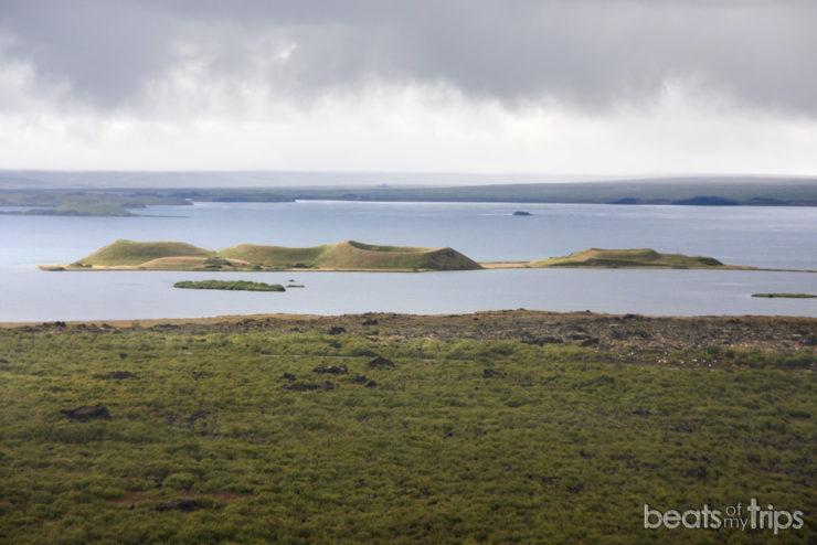Cráteres lago Myvatn