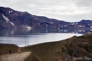 Lago Öskjuvatn en Askja