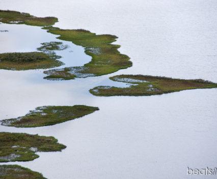 Vistas a Sandvatn desde Vindbelgjarfjall