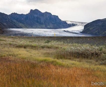 Skaftafellsjokull glacier Ring Road sur Islandia viajar