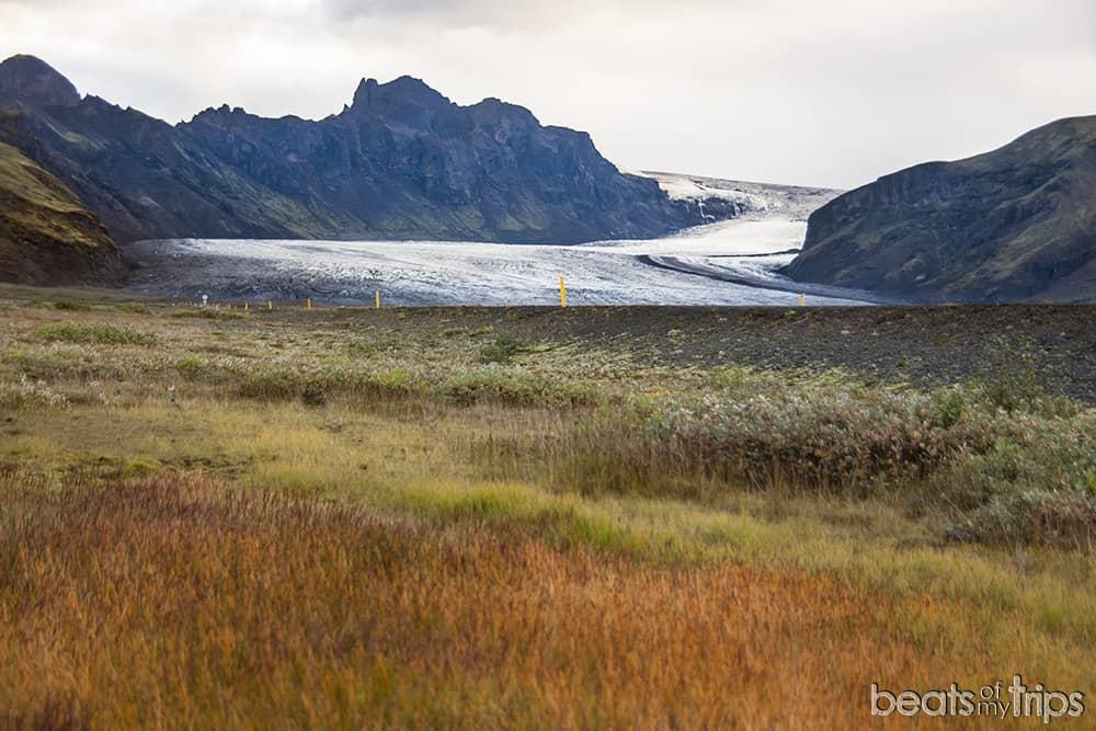 Islandia Skaftafell glaciar viajar Islandia por libre trekking
