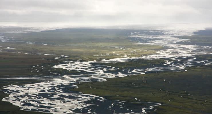 Skeidararsandur Islandia sur que es sandur Skaftafell viajar a Islandia por libre trekking