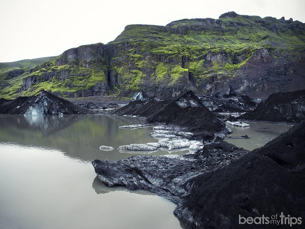 Glaciar Solheimajokull Ring Road Iceland sur Islandia qué ver en Islandia