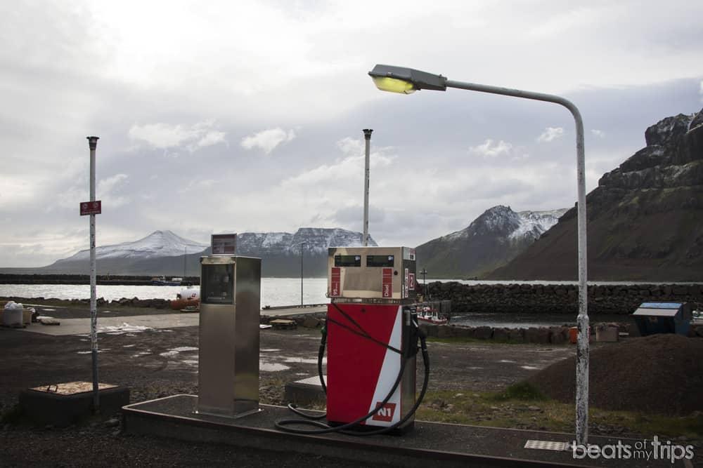 gasolinera fiordos islandia carreteras recorrer islandia por tu cuenta organizar viaje blog