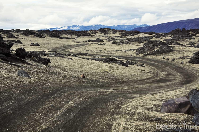islandia que ver F905 Herdubreid caldera Askja carreteras montaña tierras altas highlands