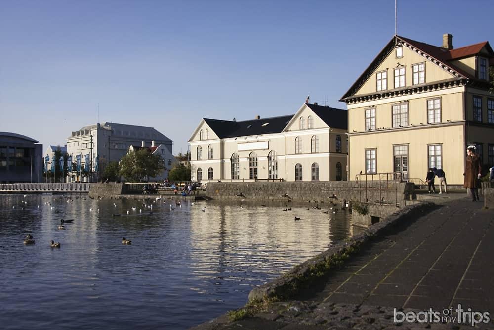 Islandia Reikiavik Tjörnin Reykjavík Islandia por libre viaja a Islandia por tu cuenta