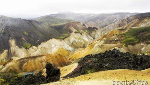 Trekking por las montañas de colores de Landmannalaugar, CON MAPA!!