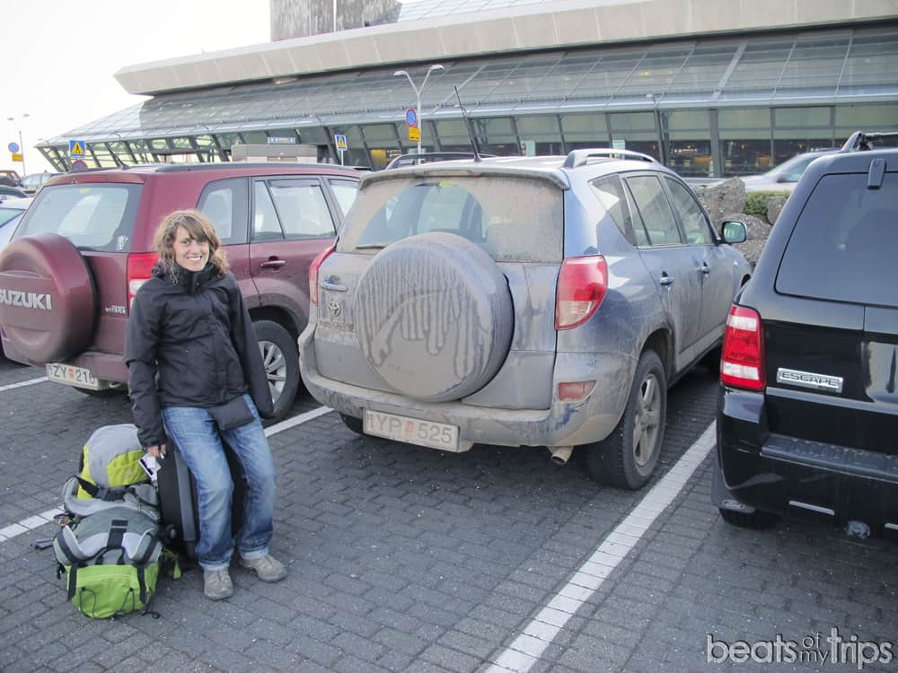 Keflavik aeropuerto Islandia