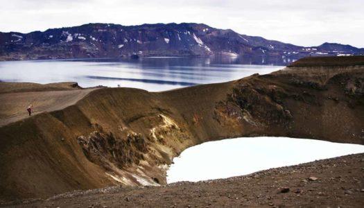Islandia 5. ASKJA POR LIBRE, la descomunal caldera