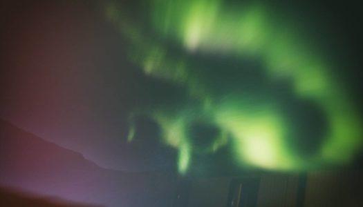 La Aurora Boreal en Islandia: El cielo se ha vuelto loco!
