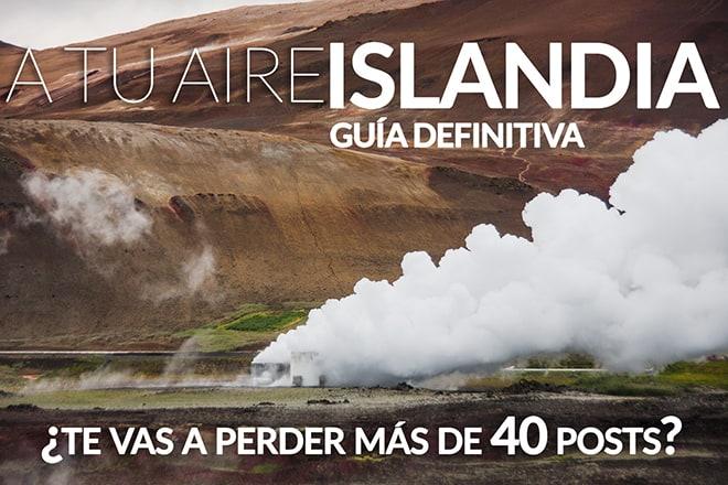 Guia Islandia viajar camper 4x4 carreteras alquiler qué ver Iceland guide