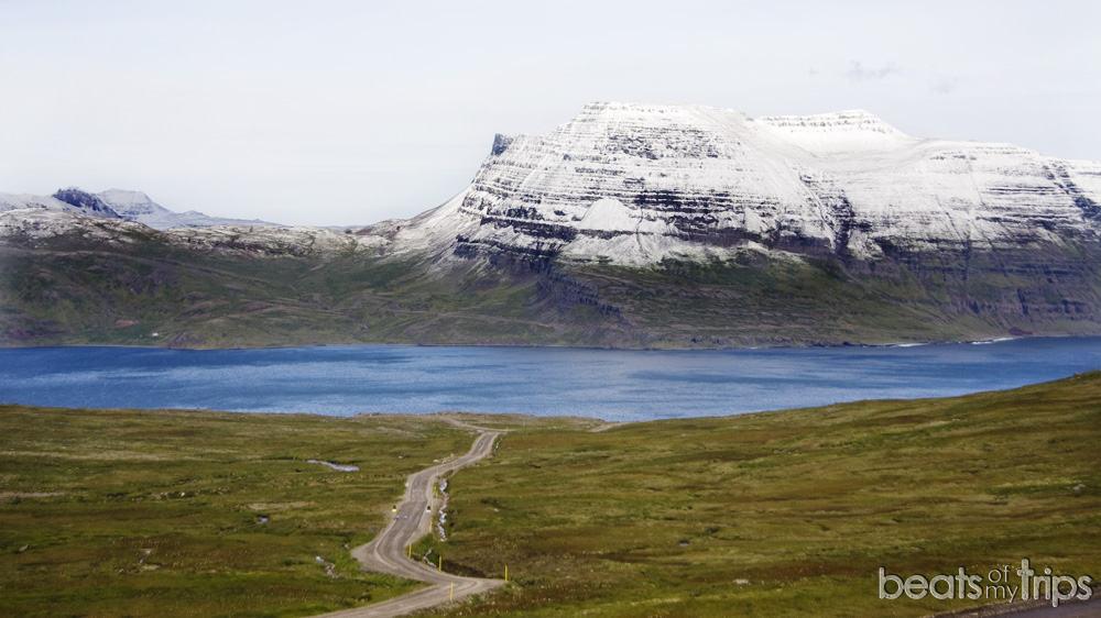 fiordos oeste carreteras de Islandia conducir en Islandia
