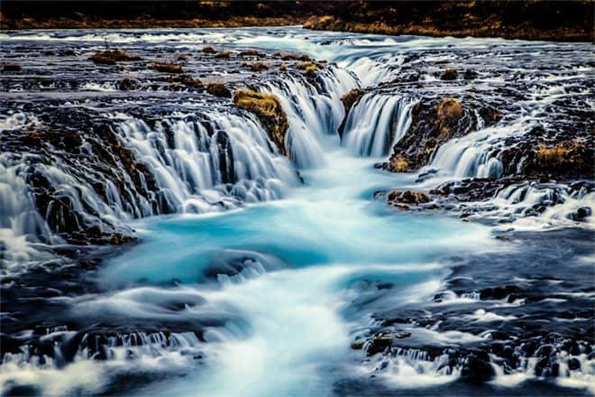 cascada bruarfoss circulo dorado Islandia blog