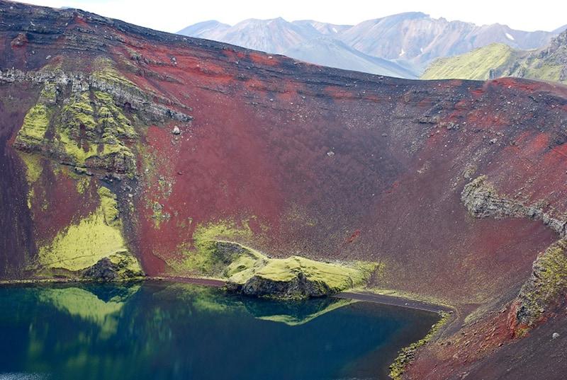 Lago Ljótipollur Fjallabak Landmannalaugar Islandia Highlands Iceland