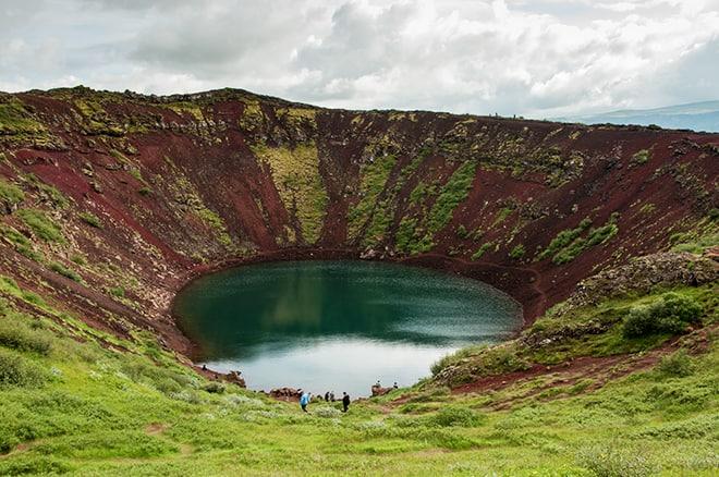 Crater Kerid Circulo Dorad Que ver Islandia