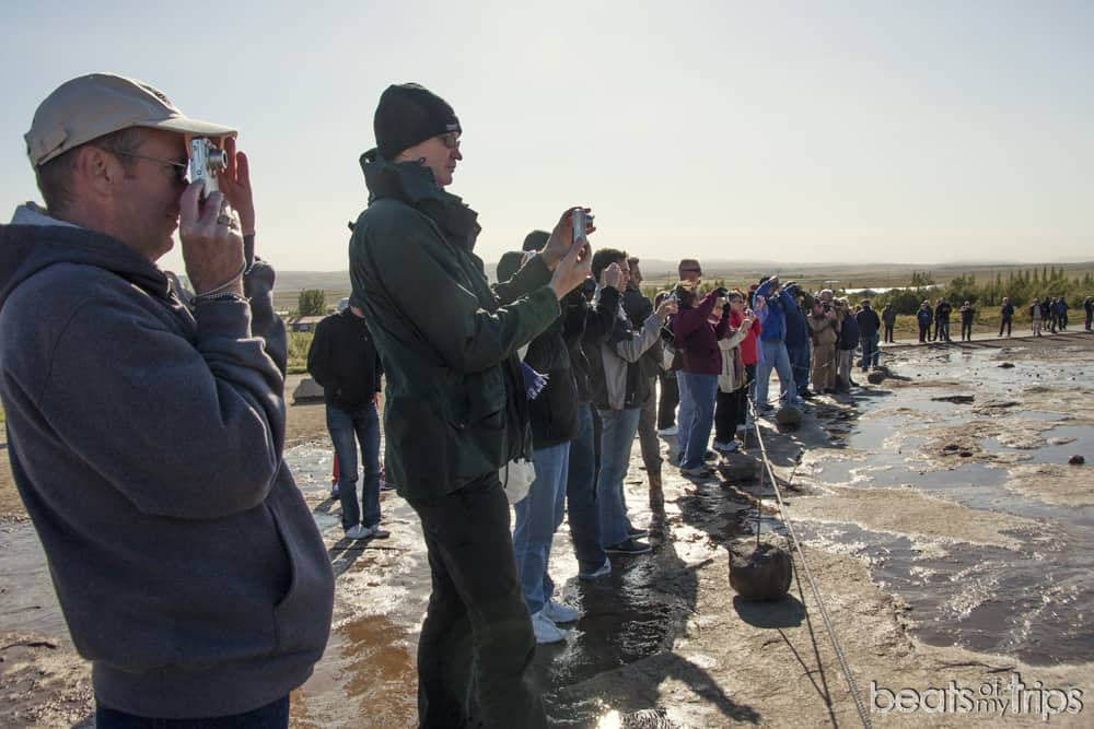 geyser Strokkur mejor época para viajar a Islandia cuando circulo dorado